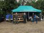 Namiot kola na dozynkach w Dolhobyczowie